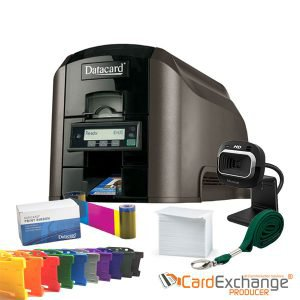 Datacard CD815 ID Card Printer Simplex Bundle