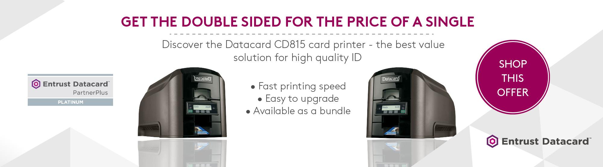 CD815 ID Card Printer Essentra Security