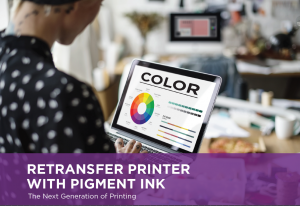 Datacard Retransfer Pigment Ink Printer - ID Cards - White Paper