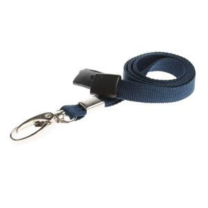 Dark Blue Lanyard