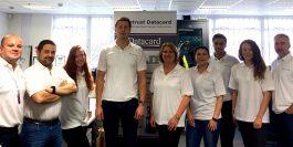 The essentra security team celebrate Datacard partnership
