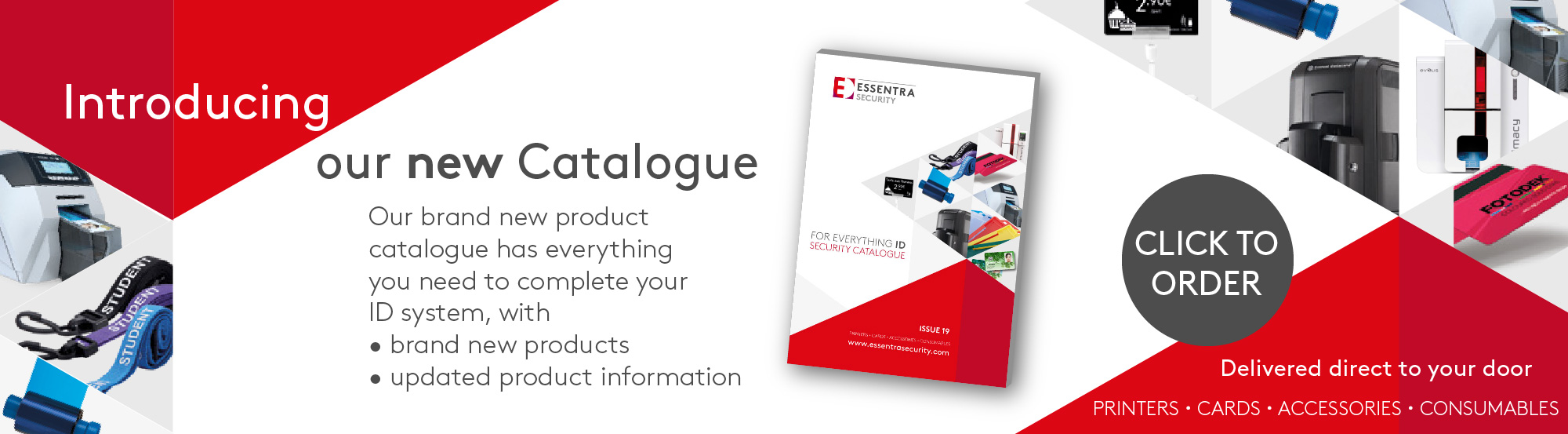 Essentra security catalogue banner