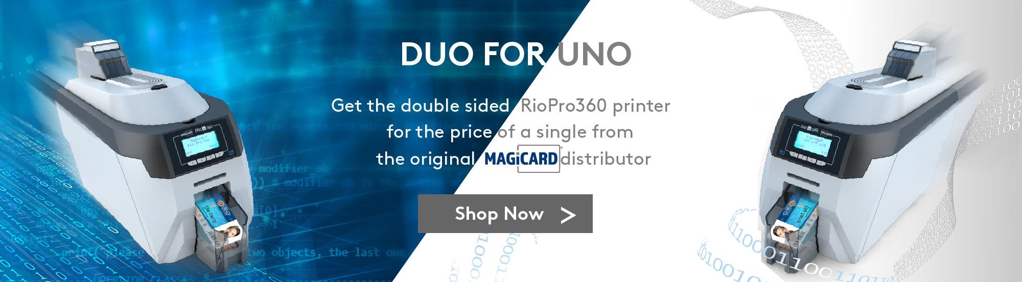 RioPro360 Printer Duo Uno Banner
