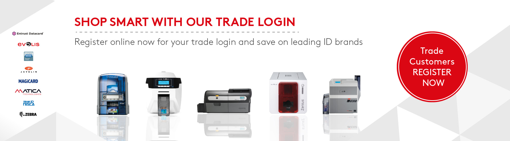 Essentra Security trade login banner
