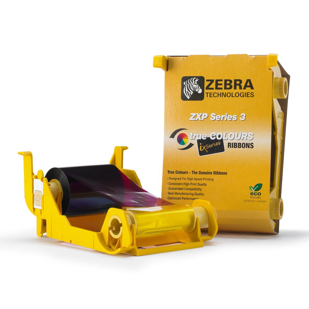 Zebra - 800033-348 - ZXP3 YMCKOK Ribbon