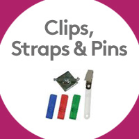 Clips, Straps & Pins