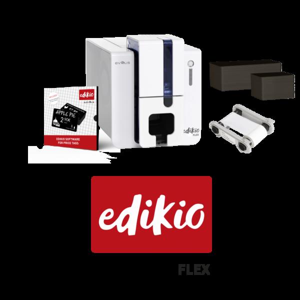 evolis edikio flex price tag printer