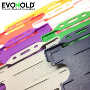 EVOHOLD Double Sided ID Card Badge Holders