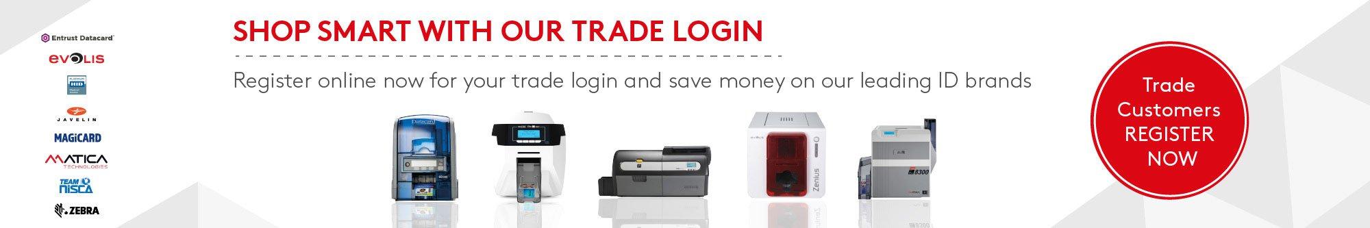 trade login banner essentra security