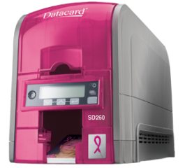 Pink SD260 ID Card Printer